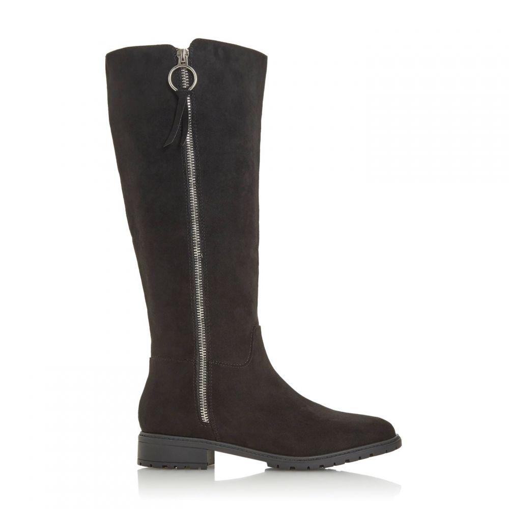 ヘッドオーバーヒールズ Head Over Heels レディース ブーツ シューズ・靴【Tabea Side Zip Detail Knee High Boots】Black