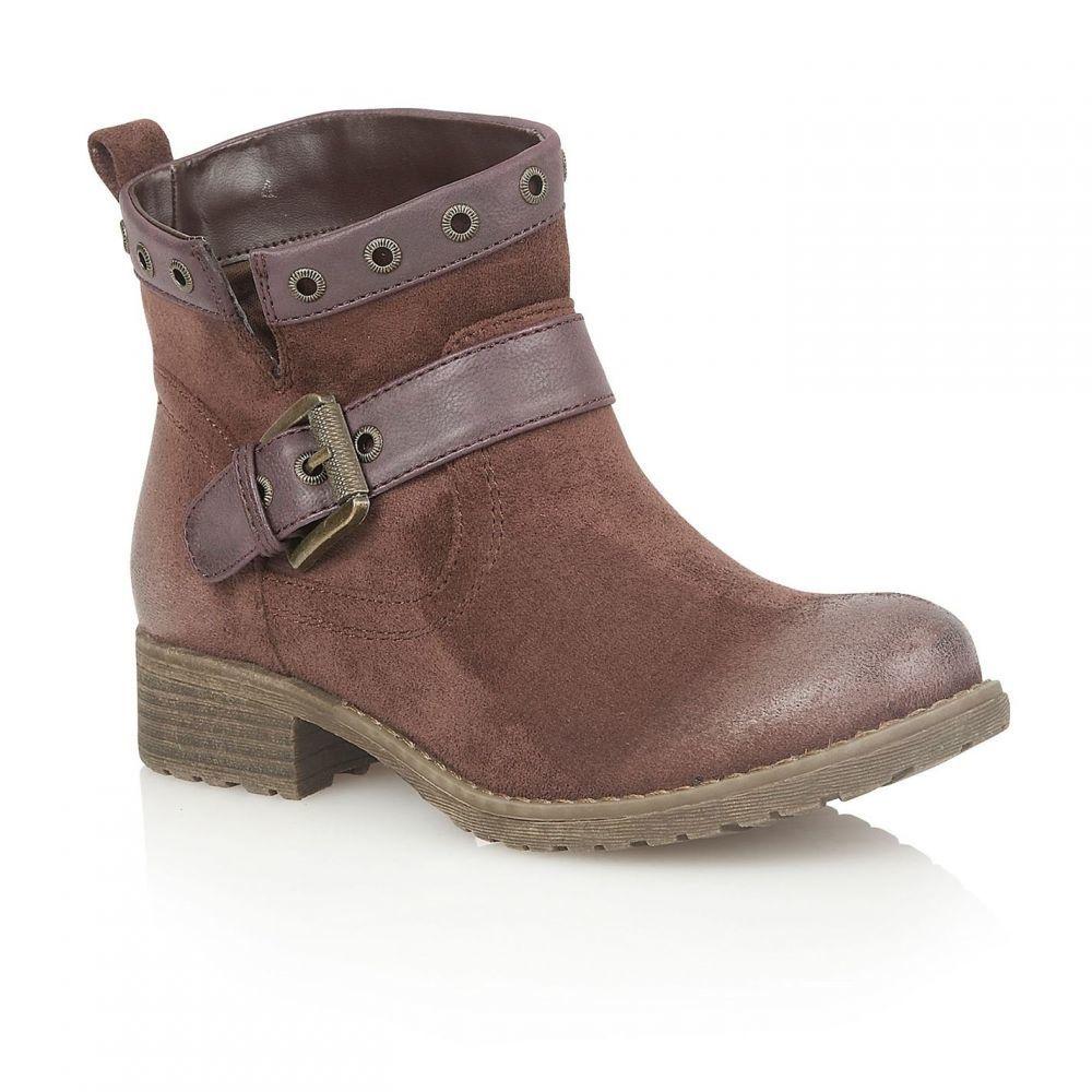 ロータス Lotus Shoes レディース ブーツ ショートブーツ シューズ・靴【Tayvonne ankle boots】Plum