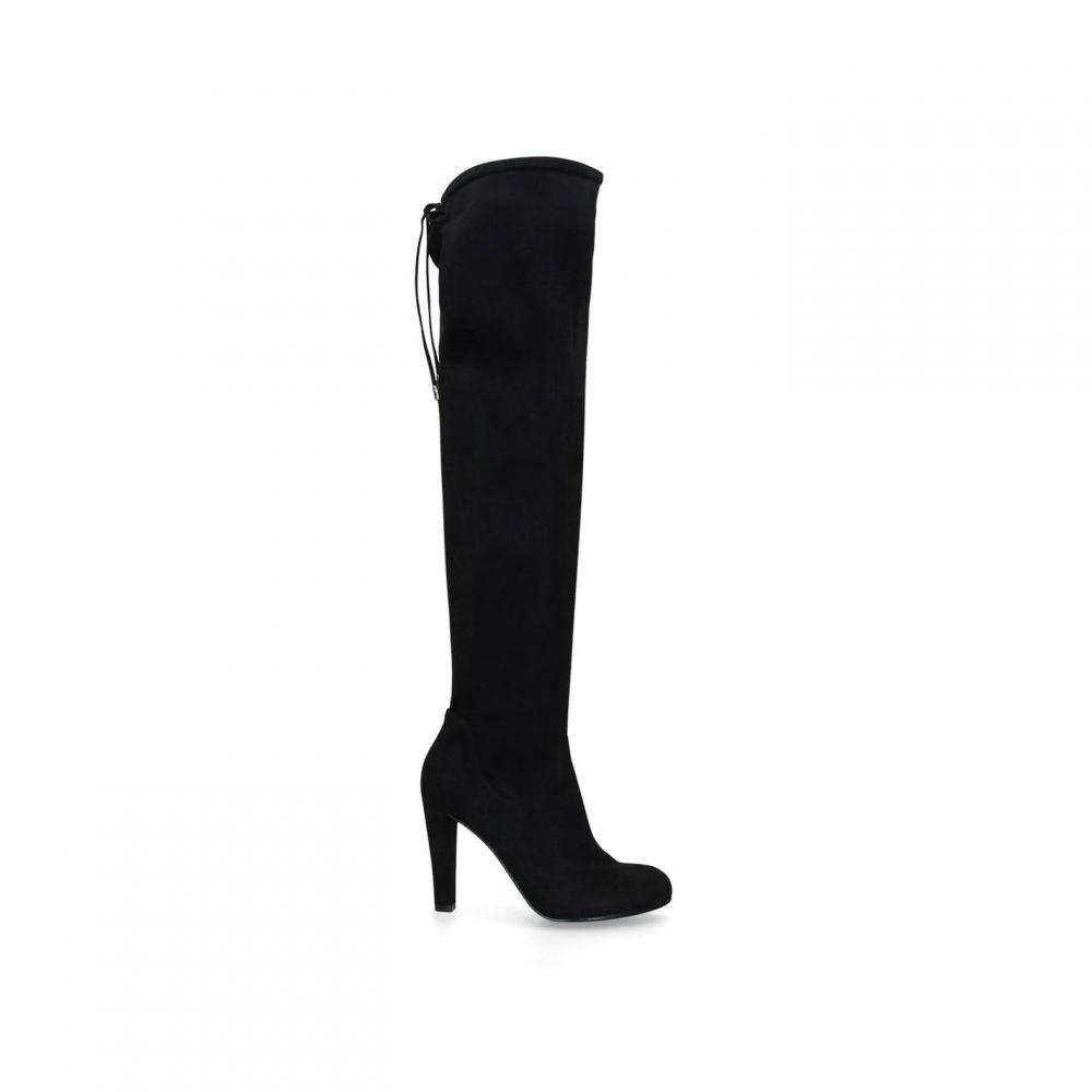 Boots】BLACK Carvela Knee シューズ・靴【Pammy High ブーツ レディース カーベラ