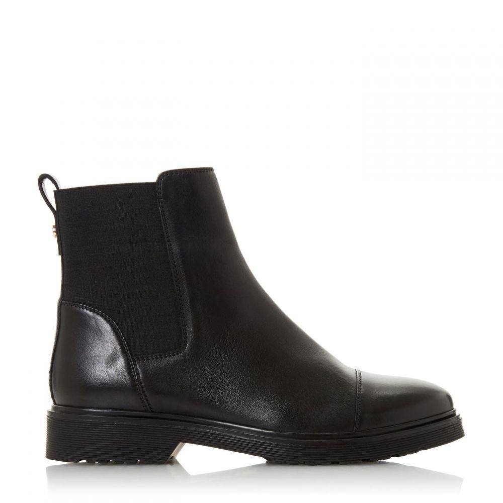 デューン Dune レディース ブーツ チェルシーブーツ シューズ・靴【Paysan Cleated Chelsea Boots】Black