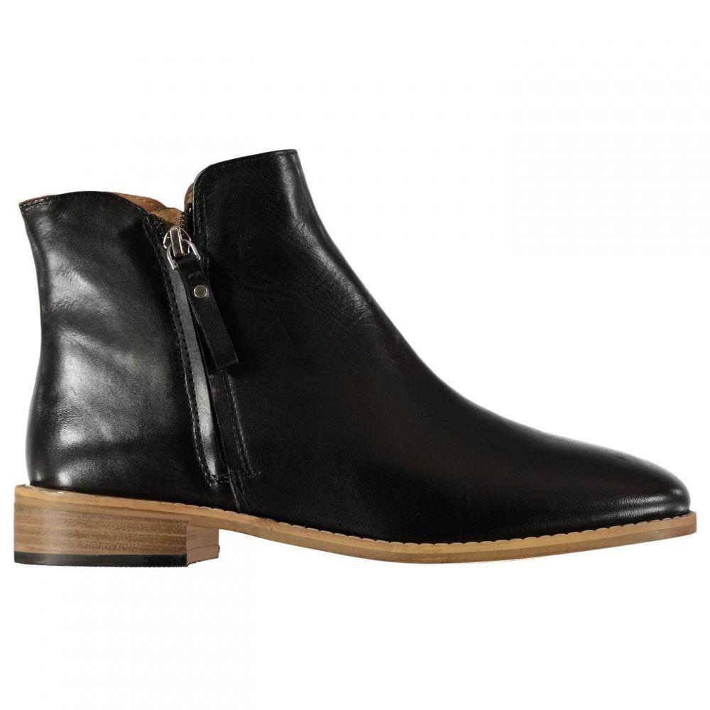 ファイヤートラップ Firetrap レディース ブーツ シューズ・靴【Kirby Zip Boots】Black