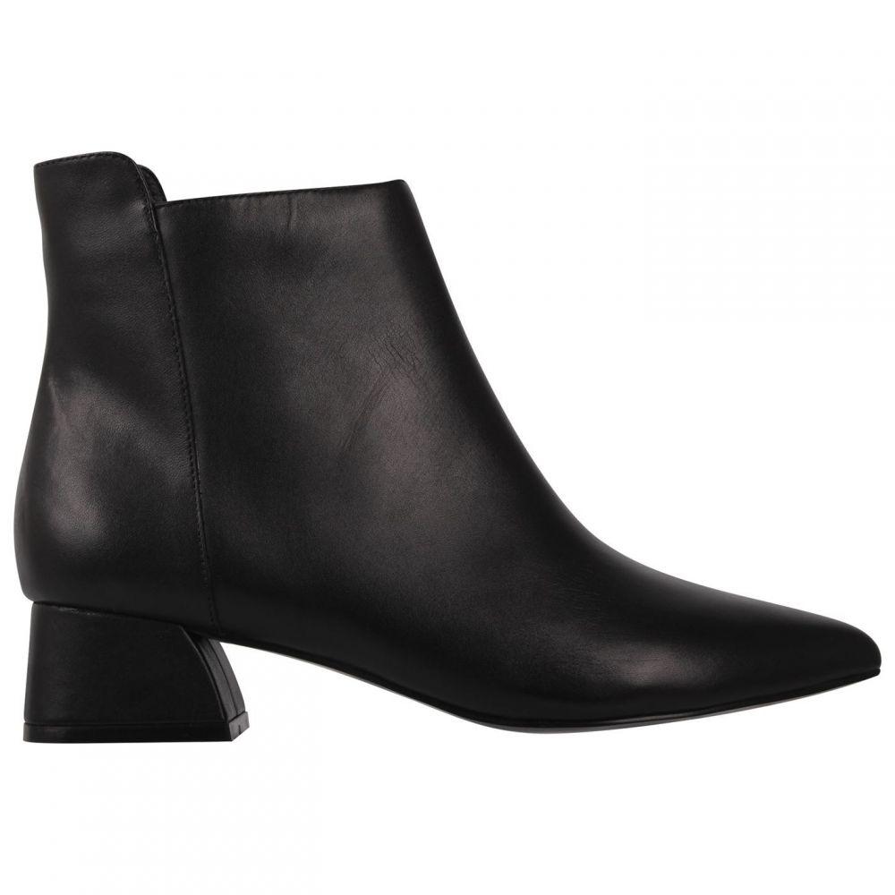リネアペレ Linea レディース ブーツ シューズ・靴【Block Heel Boots】Black
