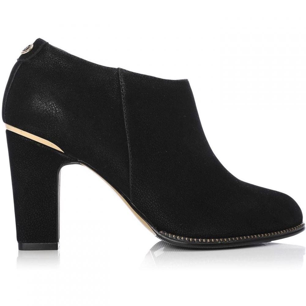 モーダインペレ Moda in Pelle レディース ブーツ シューズ・靴【Laurente medium smart short boots】BLACK