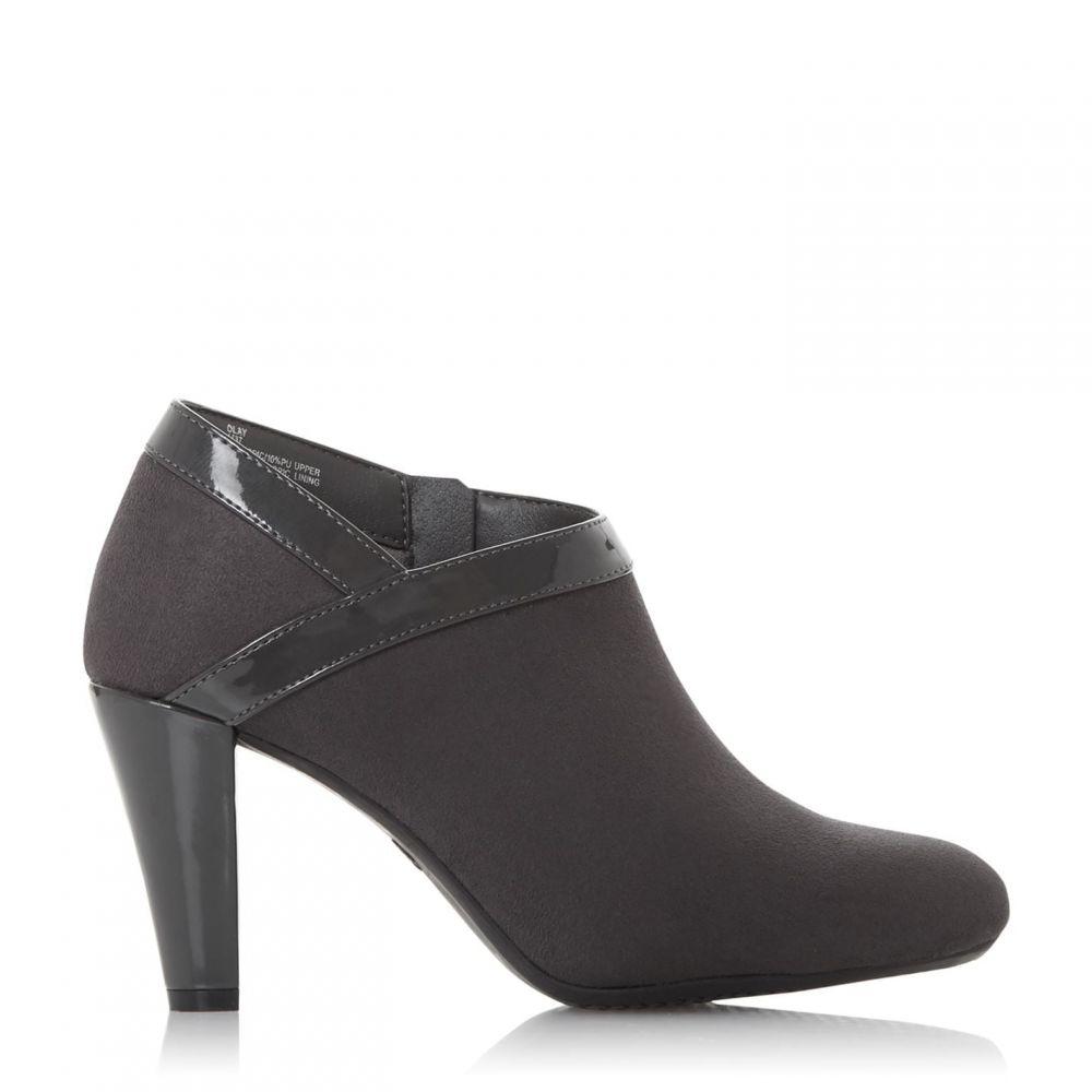 ロベルトビアンニ Roberto Vianni レディース ブーツ ショートブーツ シューズ・靴【Olay High Heel Ankle Boots】Grey