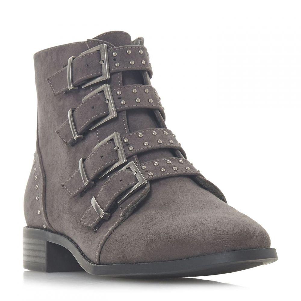 ヘッドオーバーヒールズ Head Over Heels レディース ブーツ ショートブーツ シューズ・靴【Pamina Studded Multi Buckle Ankle Boots】Grey