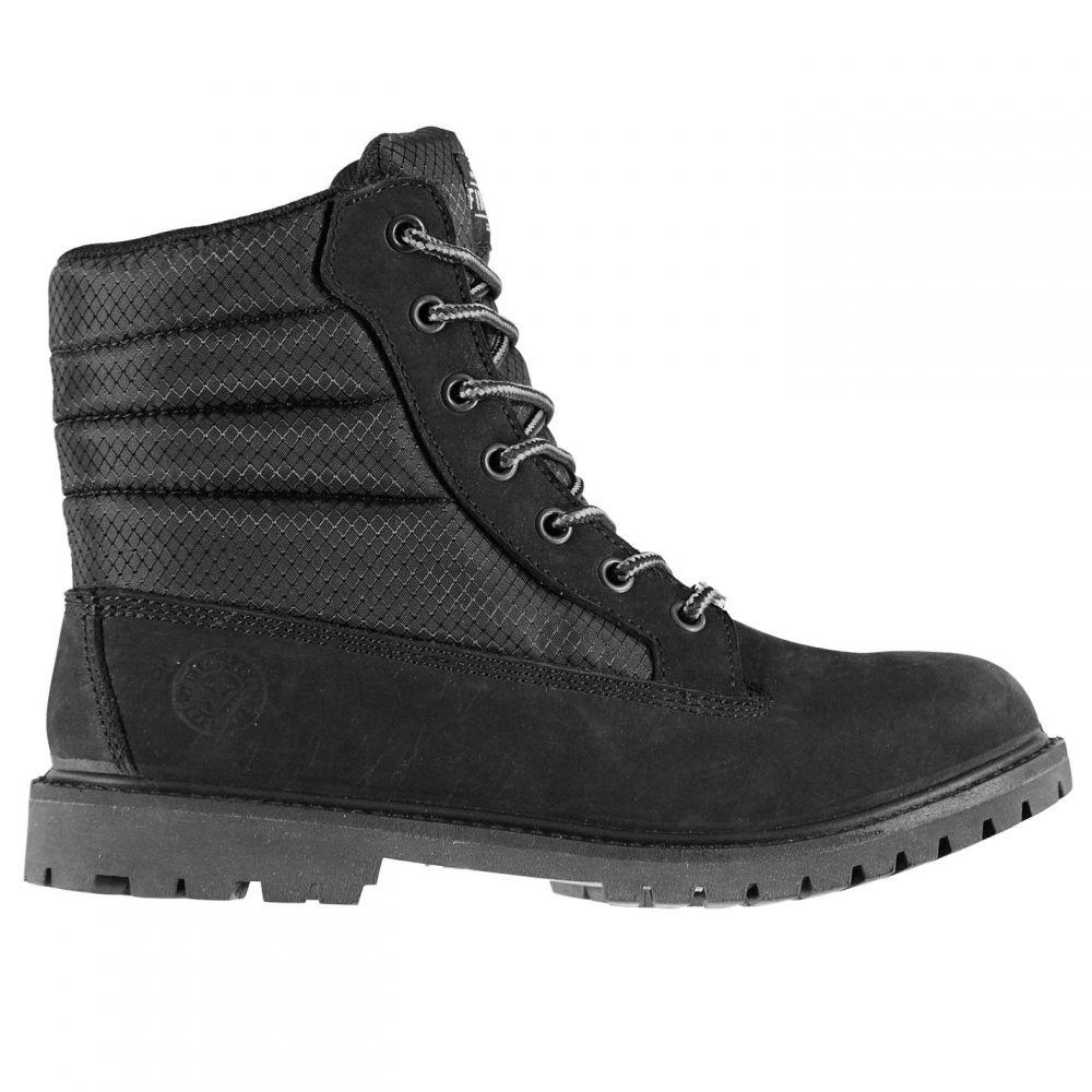 ファイヤートラップ Firetrap レディース ブーツ シューズ・靴【Almira Boots】Black/Black