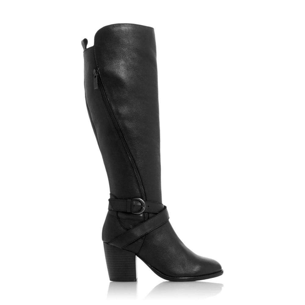 ロベルトビアンニ Roberto Vianni レディース ブーツ シューズ・靴【Tavin Block Heel Riding Boots】Black