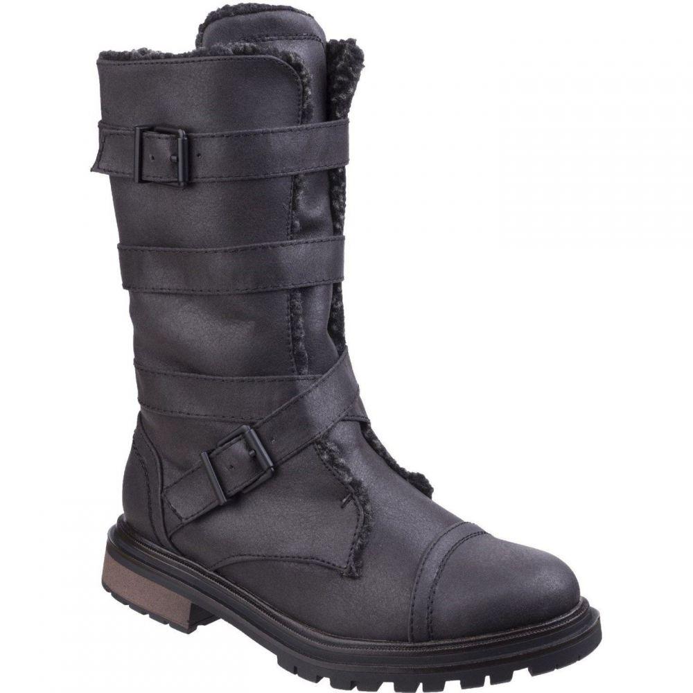 ロケットドッグ Rocket Dog レディース ブーツ シューズ・靴【Lance Buckle Boots】Black