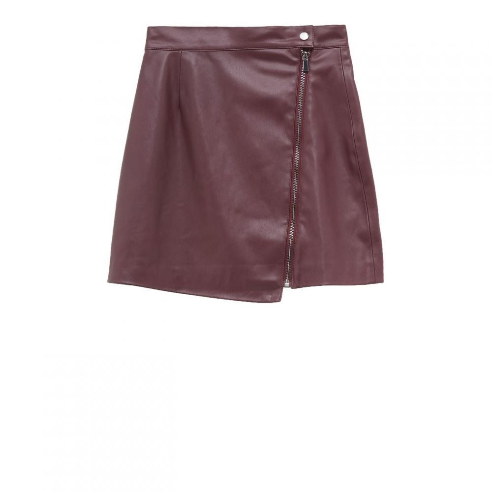 フレンチコネクション French Connection レディース ミニスカート スカート【Arianna PU Mini Skirt】Berry Blush