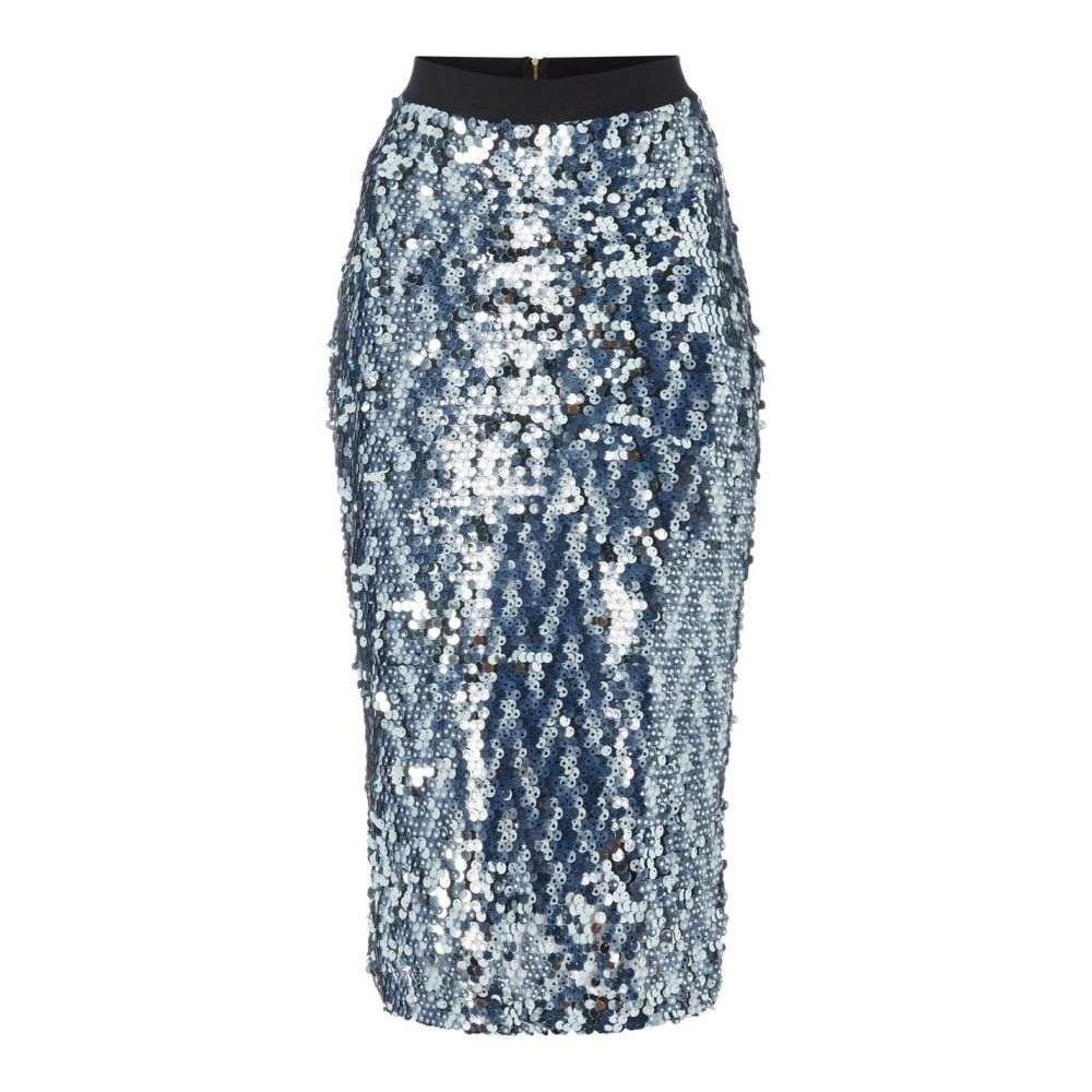 ビバ Biba レディース スカート 【Star Sequin Skirt】Blue