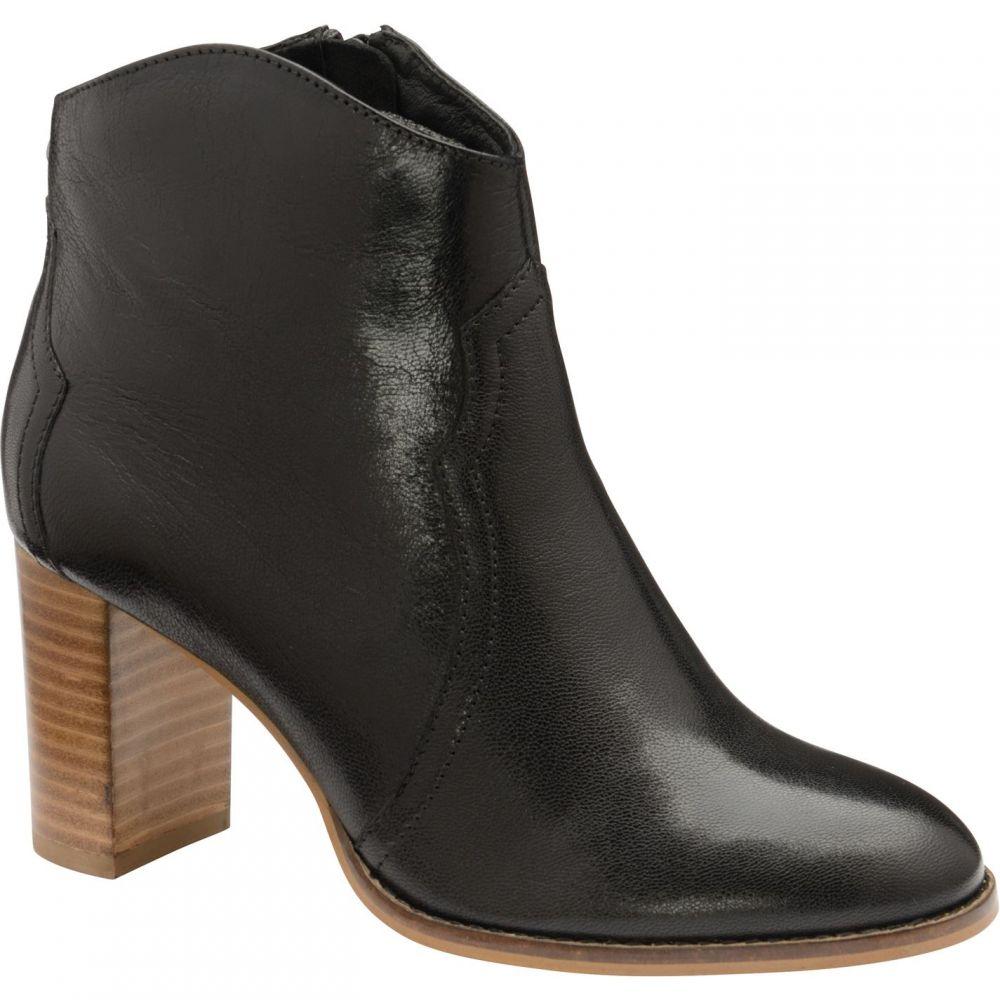 ラヴェル Ravel レディース ブーツ ショートブーツ シューズ・靴【Foxton Leather Ankle Boots】Black Leather