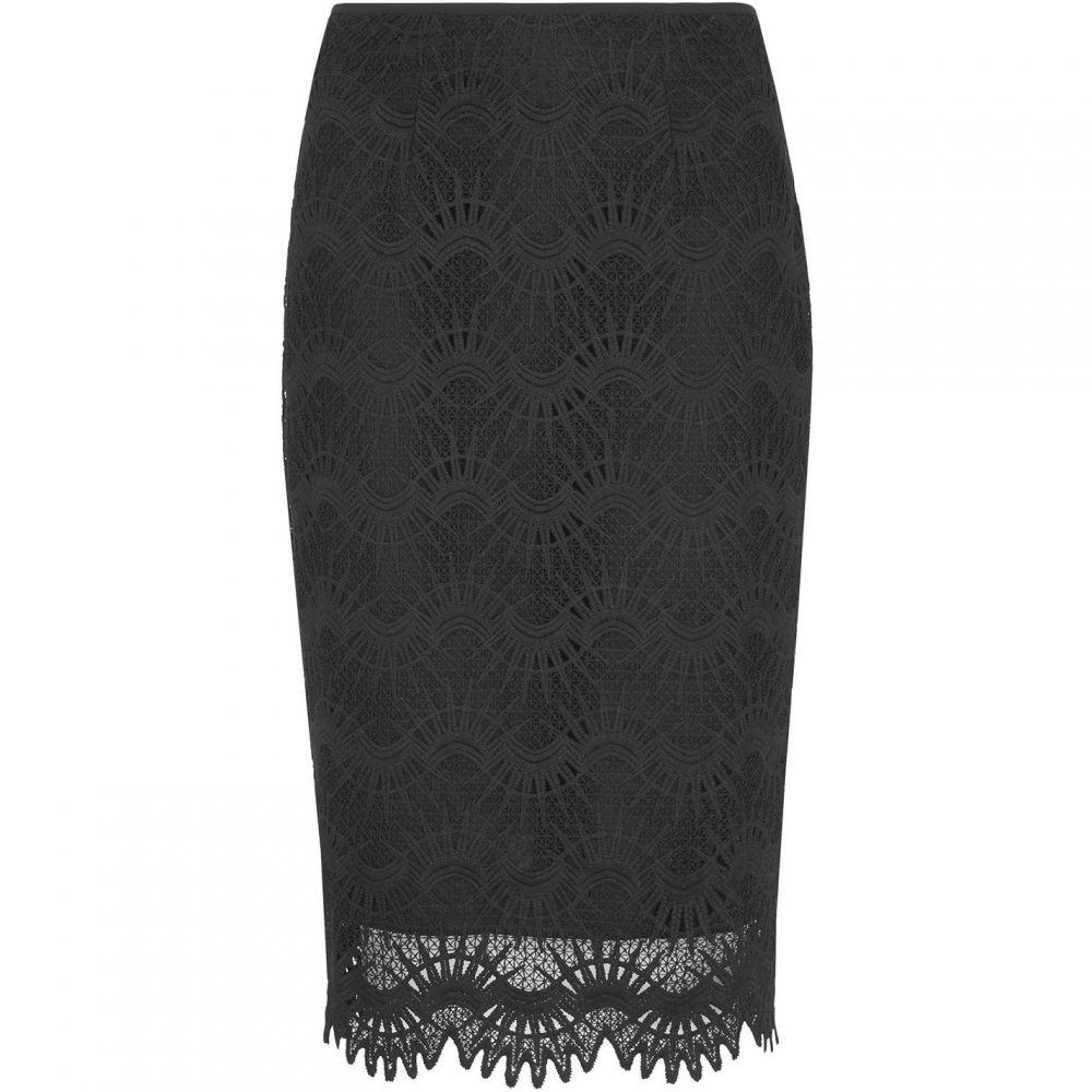 ホイッスルズ Whistles レディース ひざ丈スカート ペンシルスカート スカート【Amalie Lace Pencil Skirt】Black