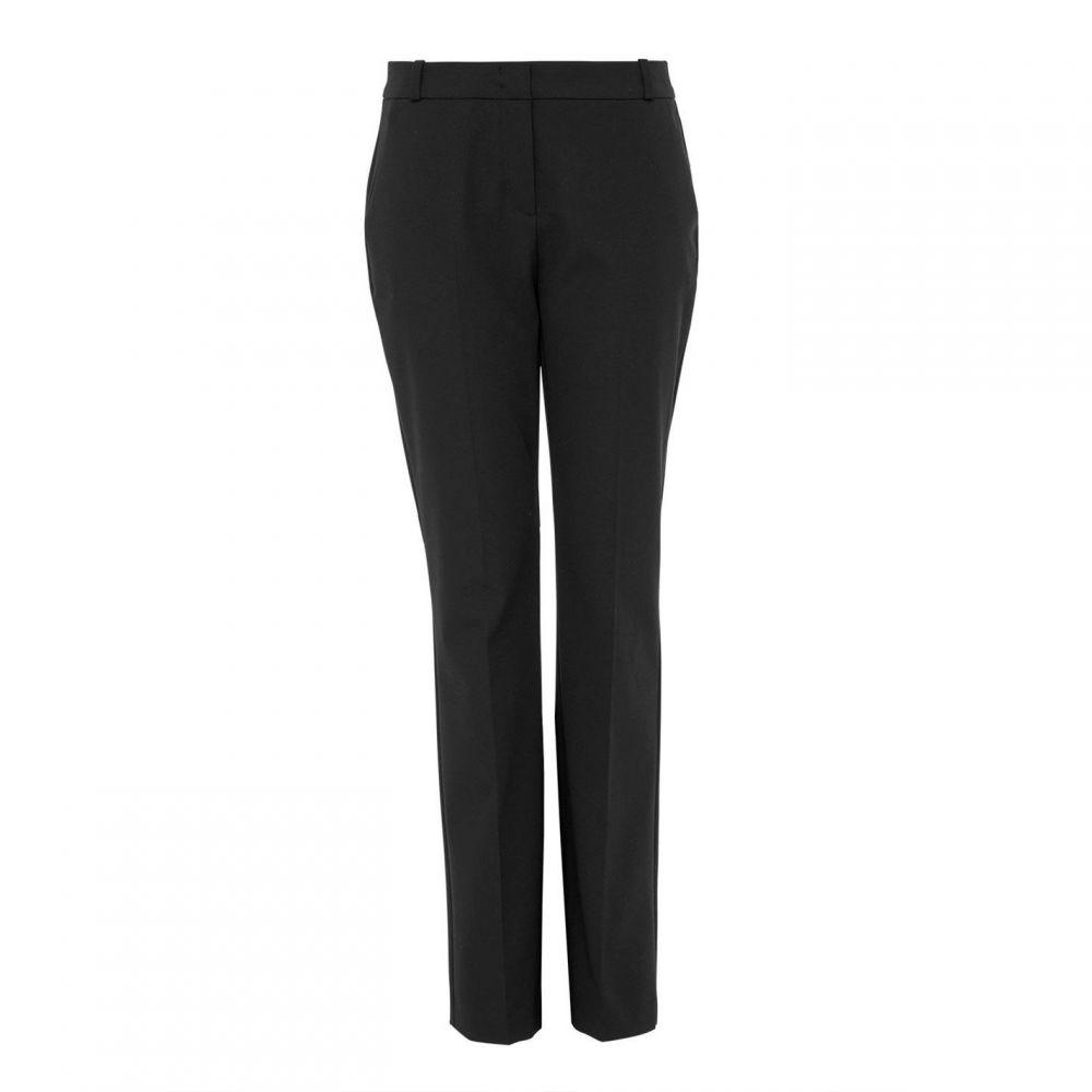 ハルフーバー Hallhuber レディース ボトムス・パンツ 【Centre Crease Business Trousers】Black