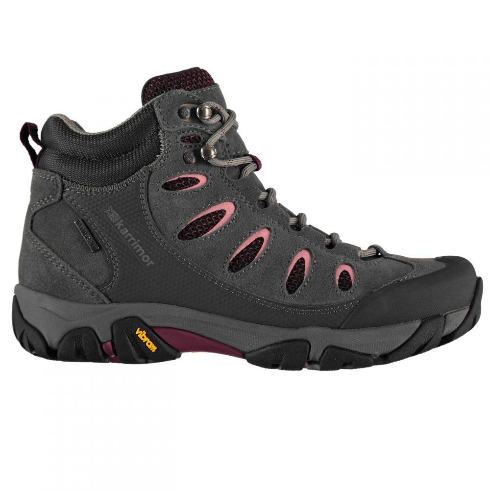 カリマー Karrimor レディース ブーツ シューズ・靴【Aspen Mid Walking Boots】Charcoal