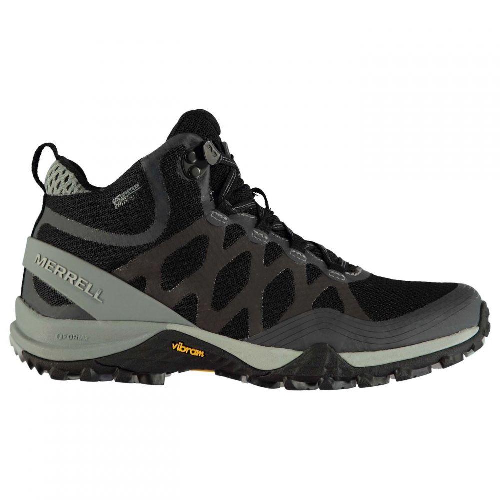 メレル Merrell レディース ブーツ シューズ・靴【Siren 3 Mid GTX Walking Boots】Black