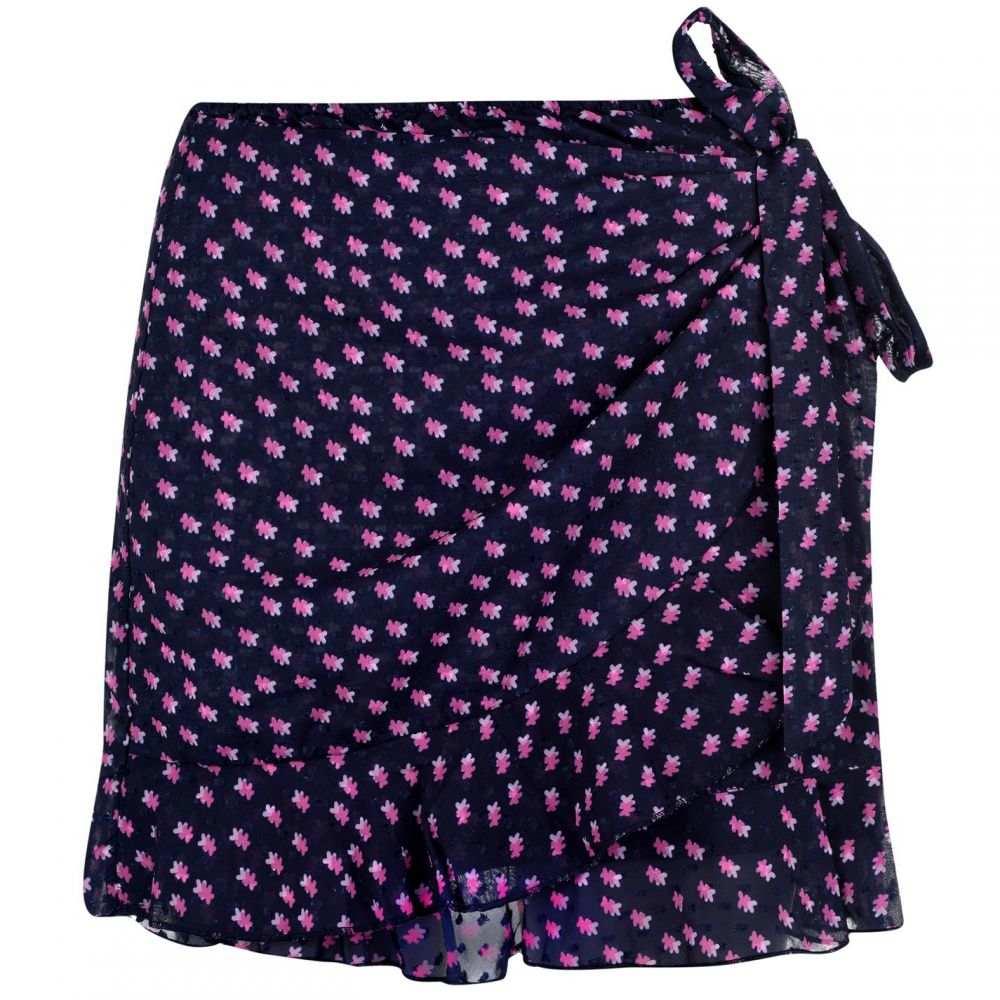 ブレイクセブン Blake Seven レディース スカート ラップスカート【Wrap Skirt】Navy