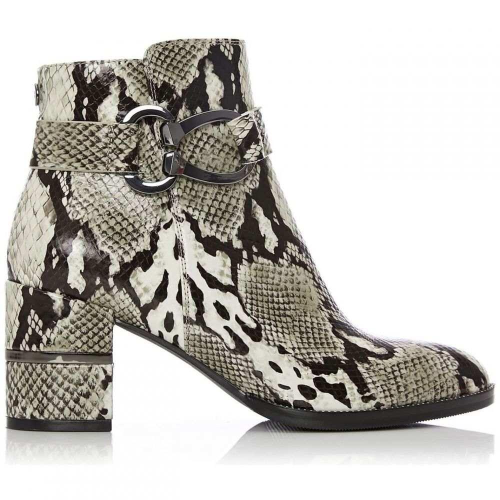 モーダインペレ Moda in Pelle レディース ブーツ シューズ・靴【Loona medium smart short boots】MONOCHROME