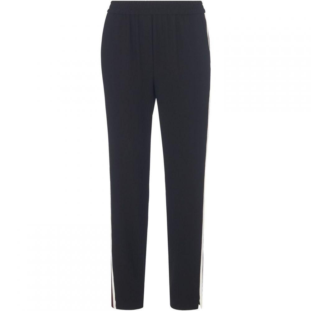 ホイッスルズ Whistles レディース ボトムス・パンツ 【Elyse Side Stripe Trouser】Black