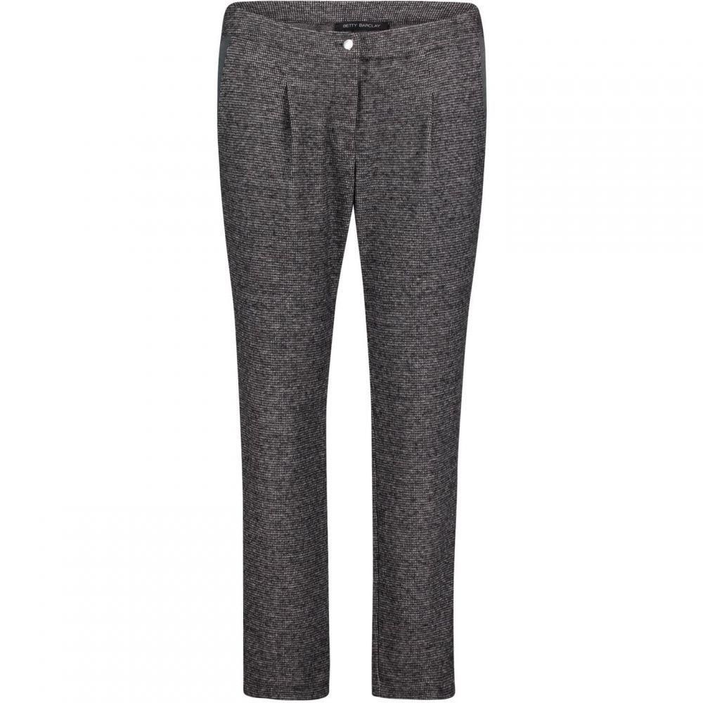 ベティー バークレイ Betty Barclay レディース ボトムス・パンツ 【Tweed trousers】Black/Grey