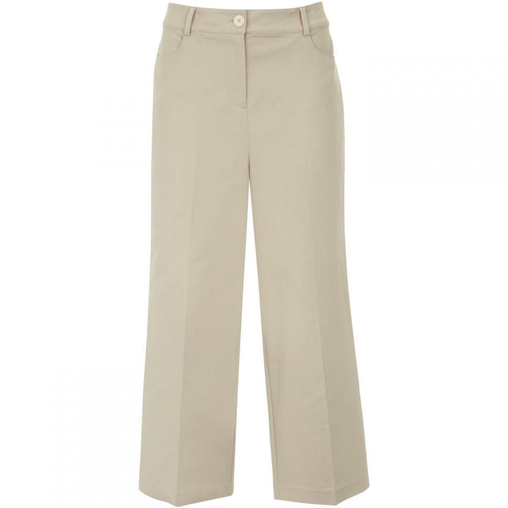 ミルトン ベルベット Mint Velvet レディース クロップド ワイドパンツ ボトムス・パンツ【Neutral Crop Wide Leg Trouser】Neutral