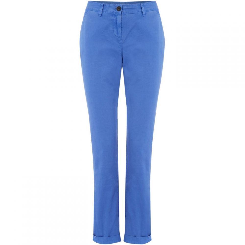 クルークロッシングカンパニー Crew Clothing Company レディース ボトムス・パンツ チノパン【Chino Trouser】Blue