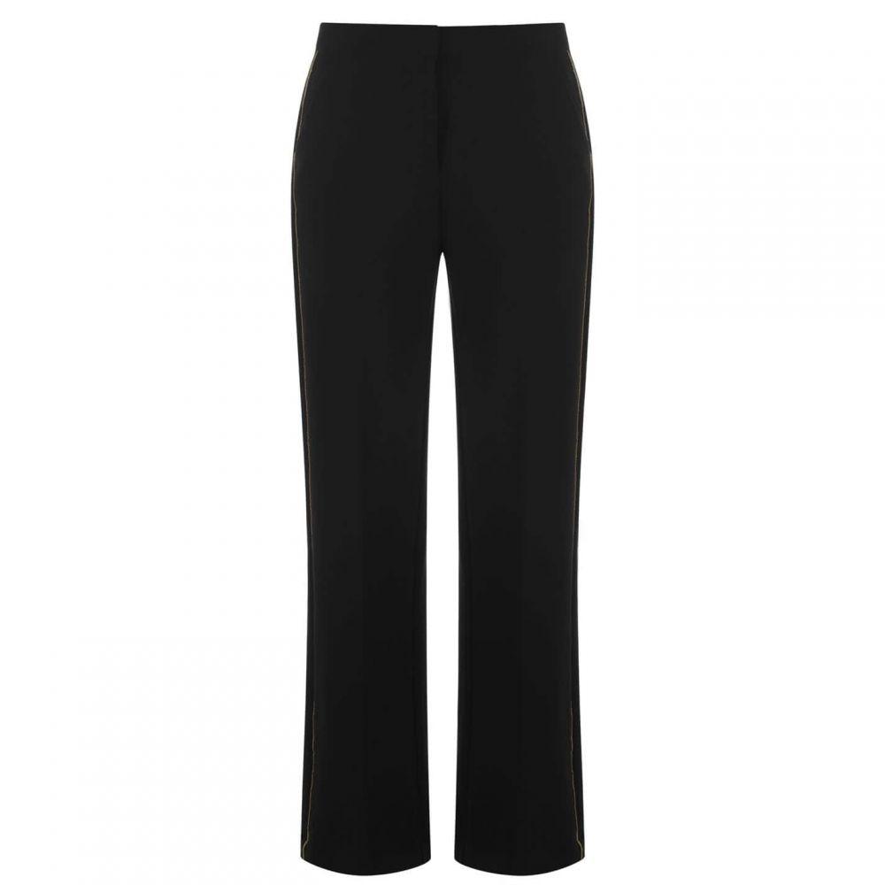 ビバ Biba レディース ボトムス・パンツ ワイドパンツ【Gold Piping Wide Leg Trousers】Black
