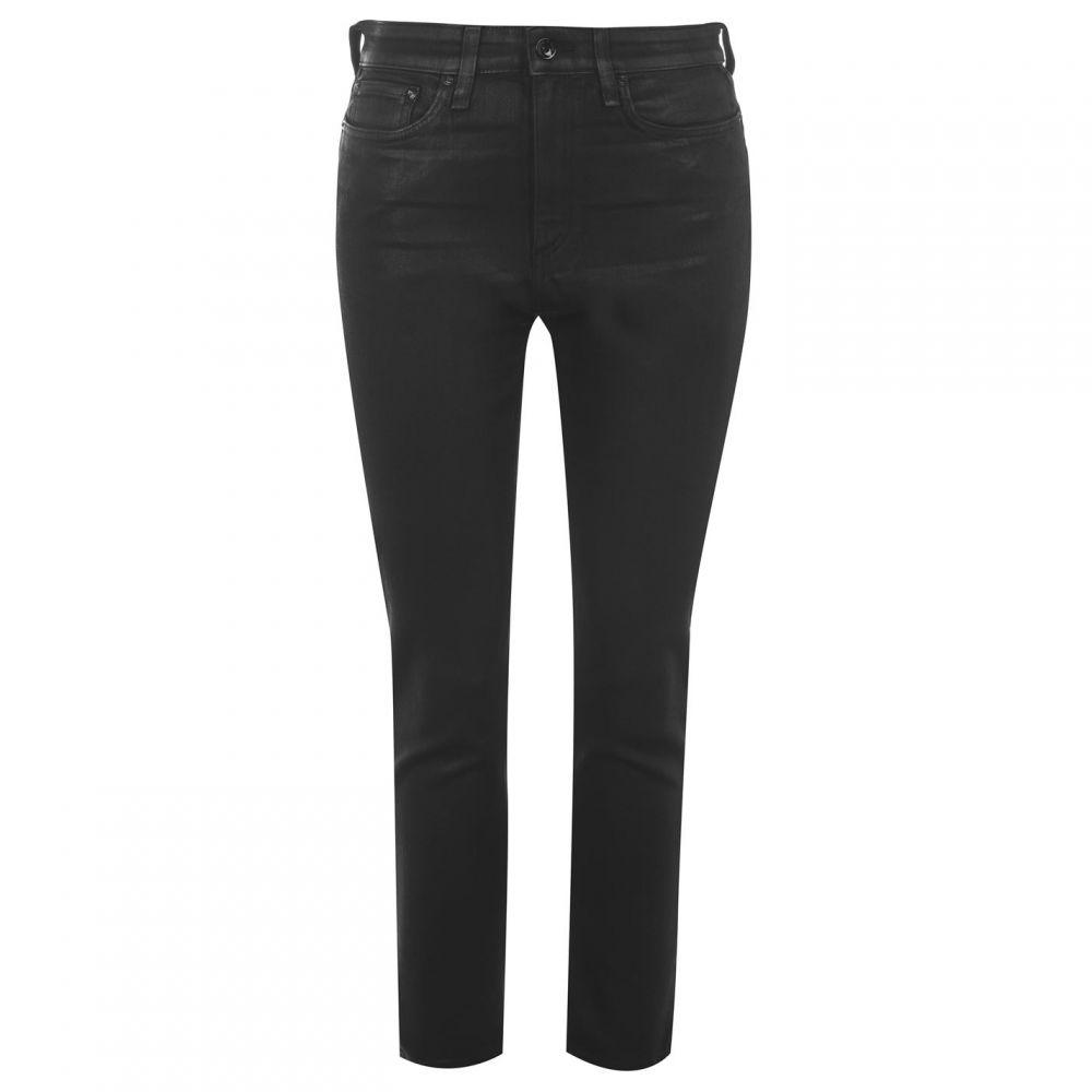 ラグ&ボーン Rag and Bone レディース ジーンズ・デニム ボトムス・パンツ【Nina High Rise Coated Jeans】COATED BLK