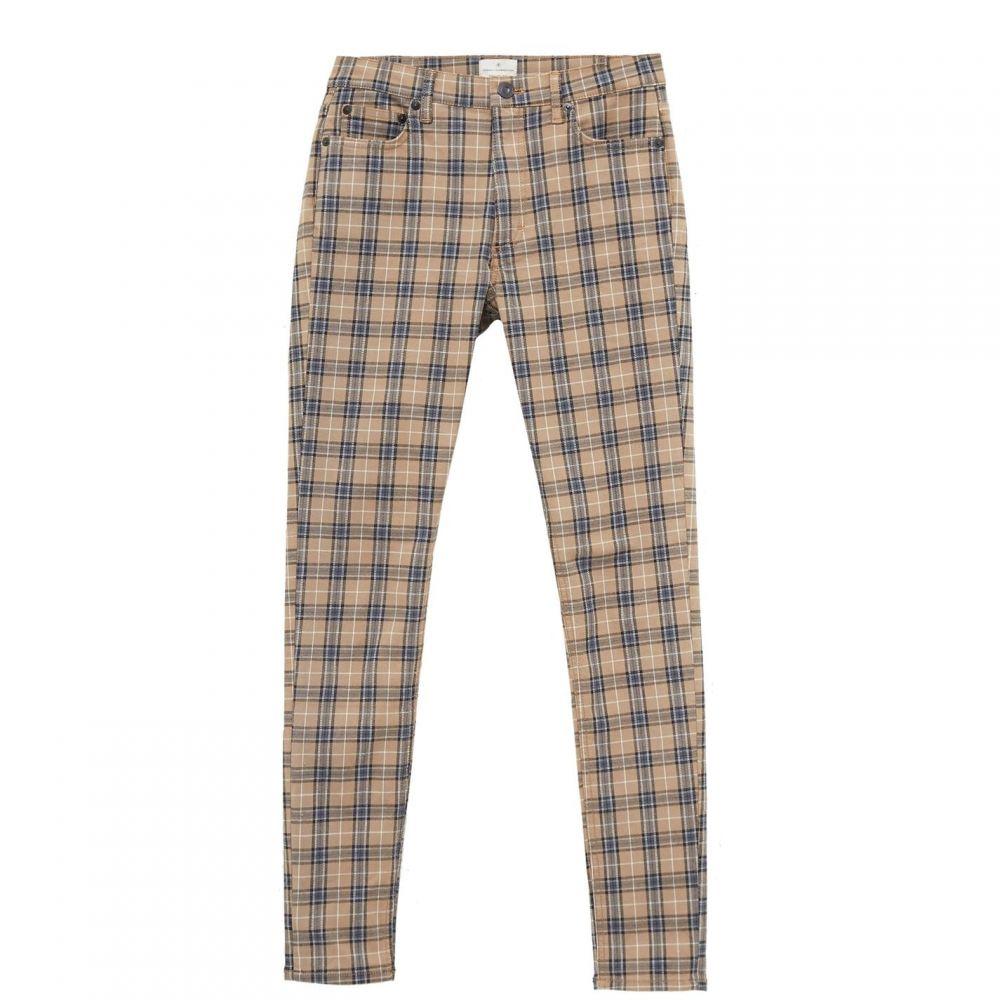 フレンチコネクション French Connection レディース ジーンズ・デニム ボトムス・パンツ【Tilly Check 5 Pocket Skinny Jeans】Camel Multi
