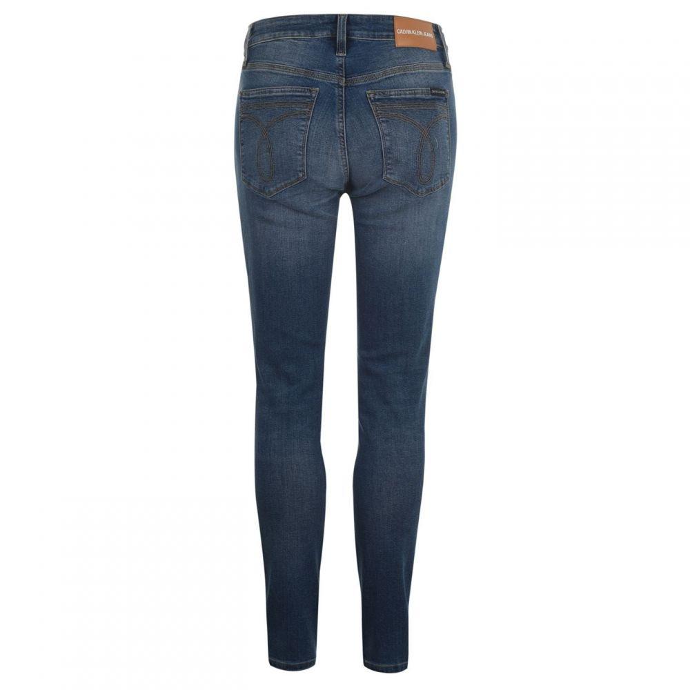カルバンクライン Calvin Klein Jeans レディース ジーンズ・デニム ボトムス・パンツ【CKJ 010 HR SKINNY】NOPALES BLUE