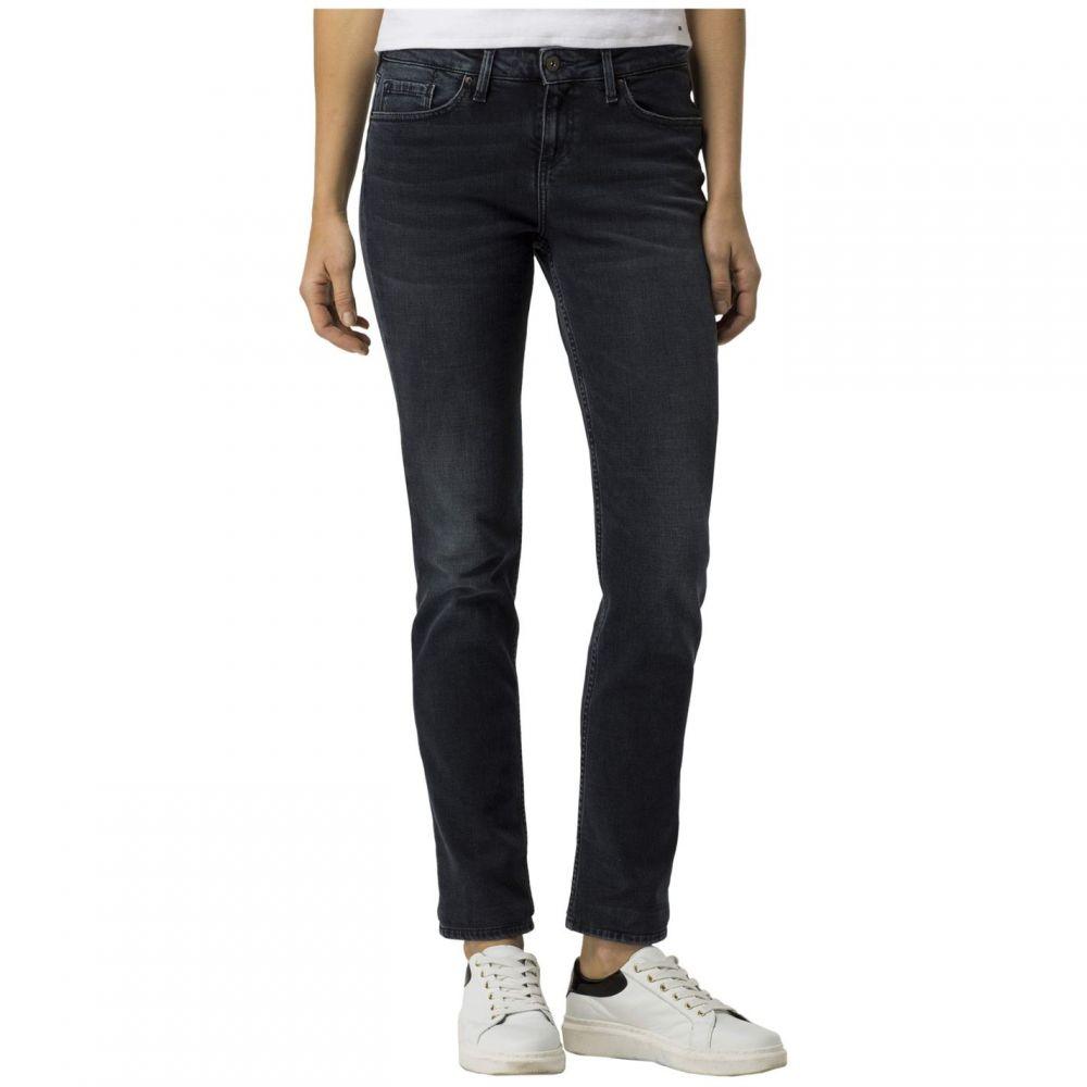 トミー ヒルフィガー Tommy Hilfiger レディース ジーンズ・デニム ボトムス・パンツ【Rome Regular Waist Mya Jeans】Black