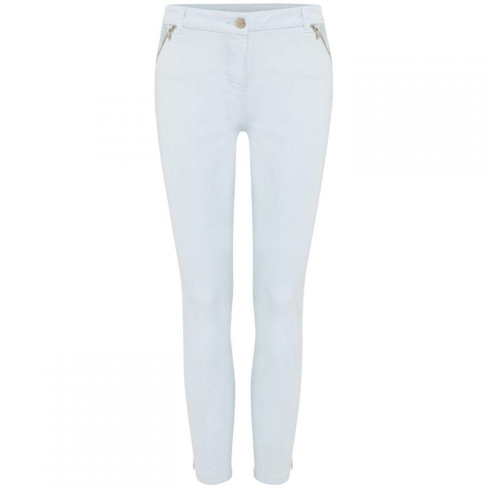 フェイズ エイト Phase Eight レディース ジーンズ・デニム ボトムス・パンツ【Emerly Floral Pocket Jeans】Sky Blue