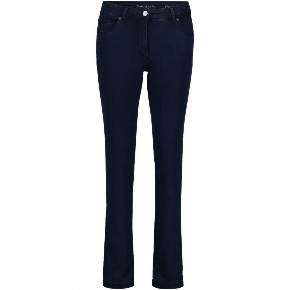 ベティー バークレイ Betty Barclay レディース ジーンズ・デニム ボトムス・パンツ【Perfect Slim Jeans】Deep Blue Denim