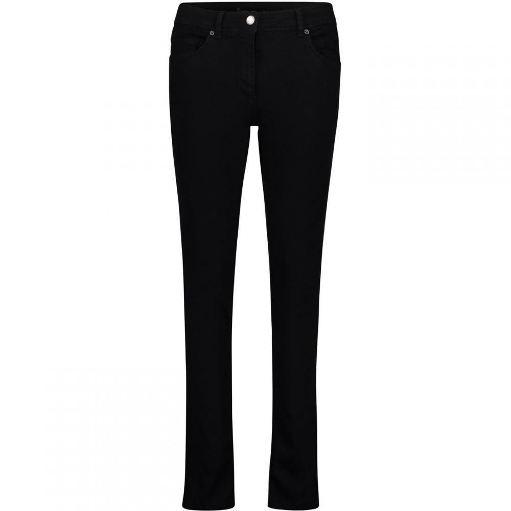 ベティー バークレイ Betty Barclay レディース ジーンズ・デニム ボトムス・パンツ【Perfect Slim Jeans】Black Black Denim