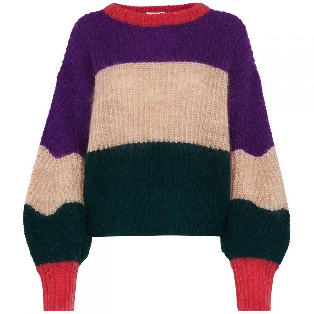 ホイッスルズ Whistles レディース ニット・セーター トップス【Sophia Stripe Mohair Sweater】Multi-Coloured