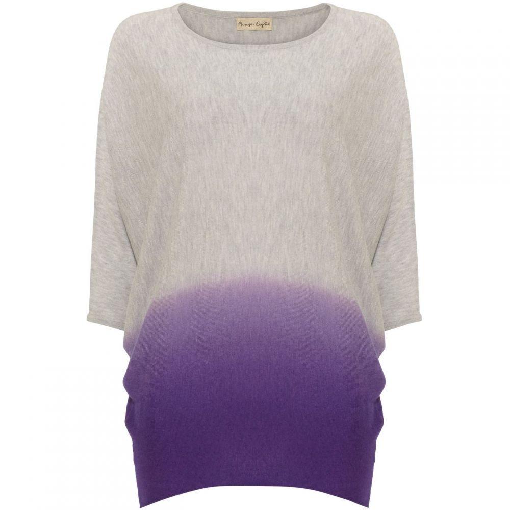 フェイズ エイト Phase Eight レディース ニット・セーター トップス【Becca Dip Dye Knit Jumper】Purple