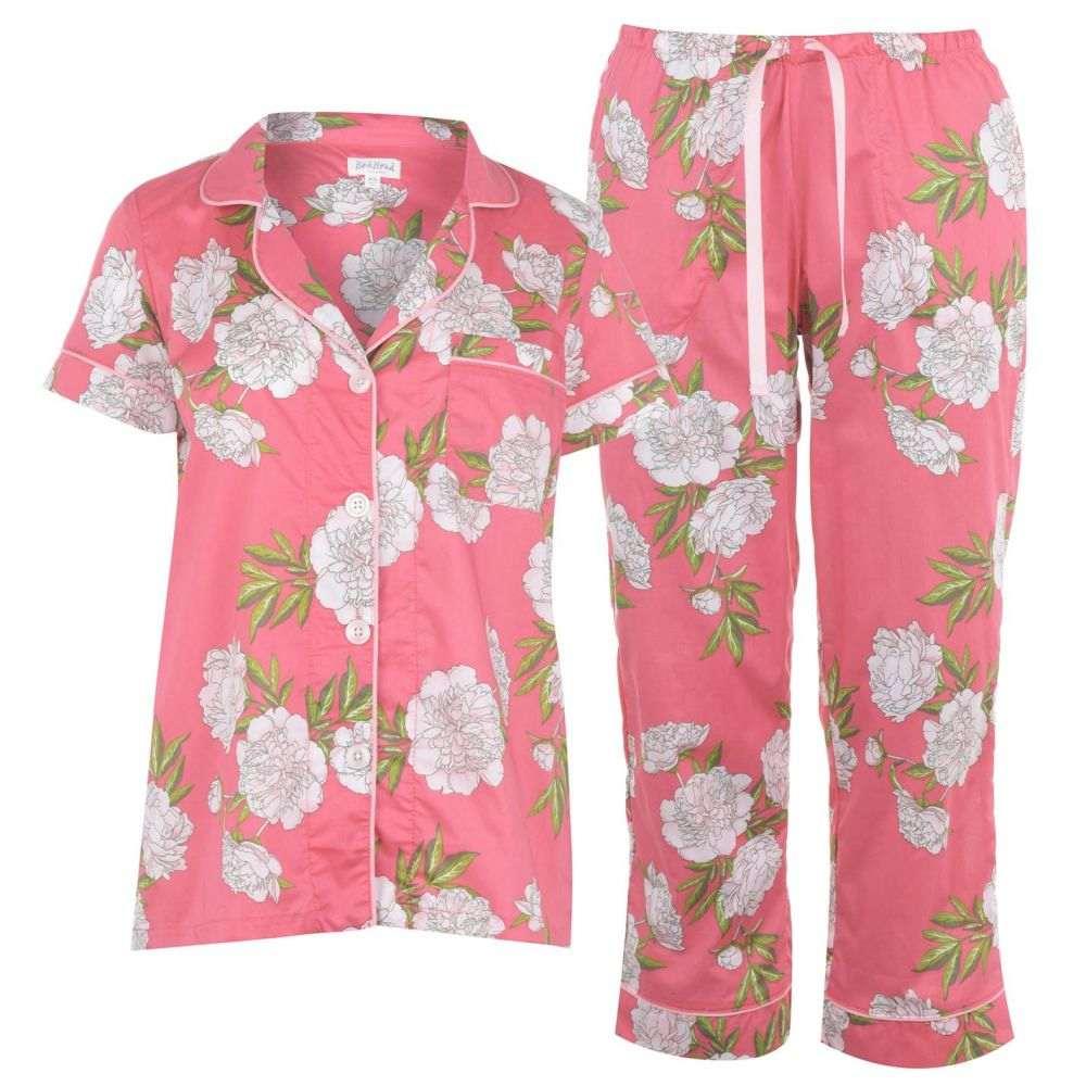 ベッドヘッド Bedhead レディース パジャマ・上下セット インナー・下着【Hermosa Bloom Cotton PJ Set】B Hermosa