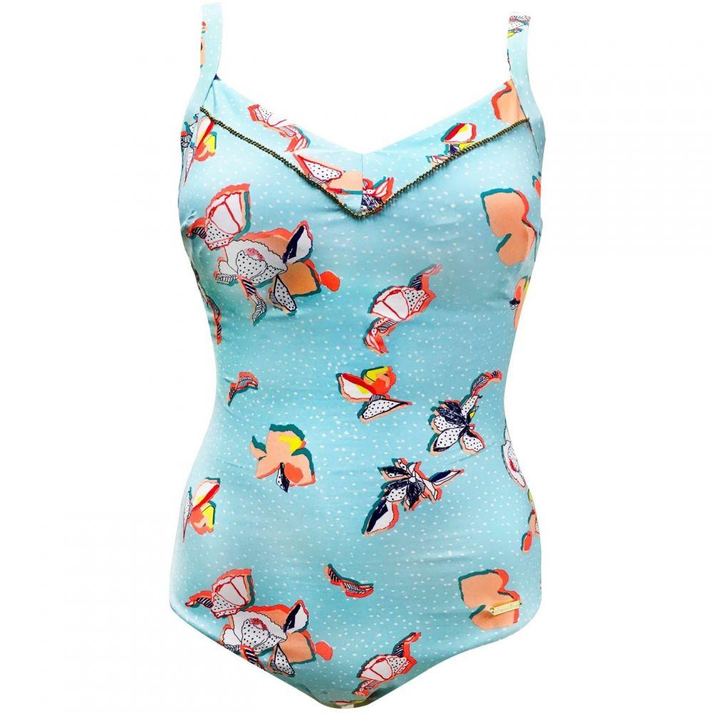サンシーカー Sunseeker レディース ワンピース 水着・ビーチウェア【Classic Cupsized Swimsuit】Aqua