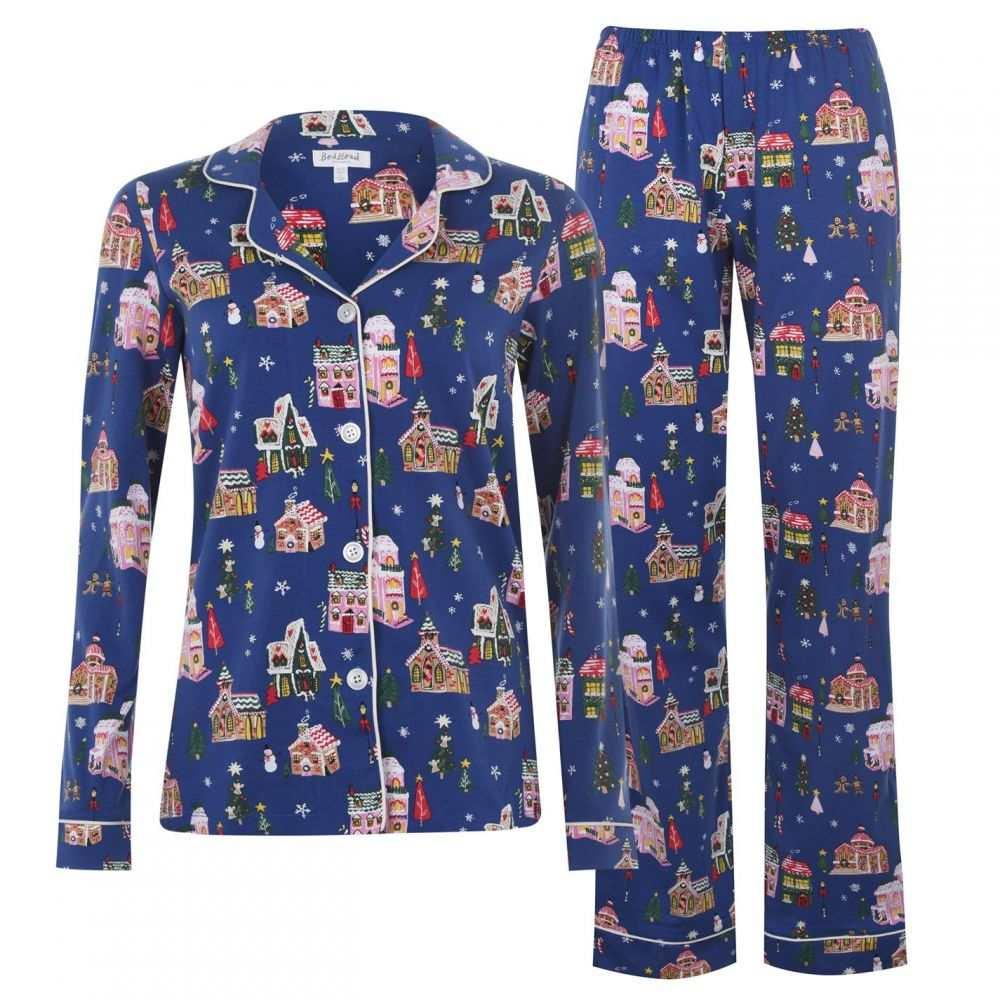 ベッドヘッド Bedhead レディース パジャマ・上下セット インナー・下着【Gingerbread Pyjama Set】Gingerbred Vill