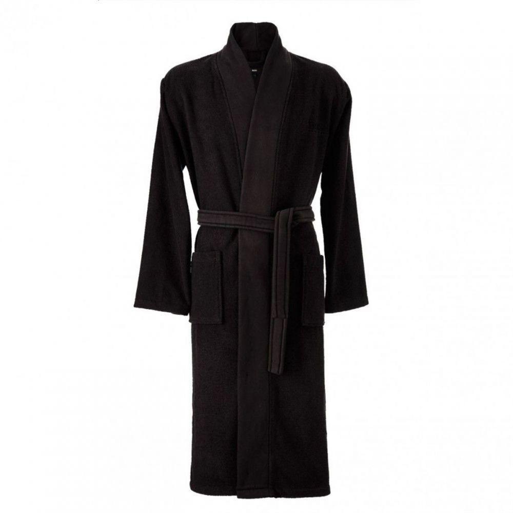 ヒューゴ ボス Boss レディース ガウン・バスローブ インナー・下着【Loft Kimono】Black