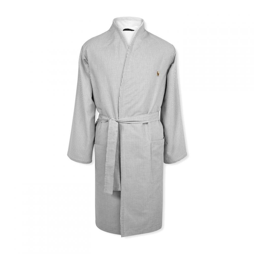 ラルフ ローレン Ralph Lauren レディース ガウン・バスローブ インナー・下着【Oxford Kimono】Charcoal