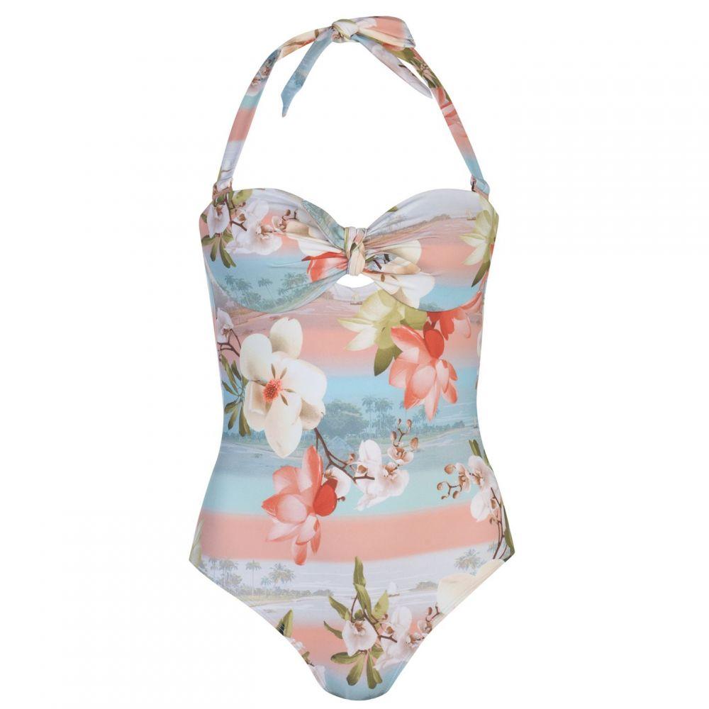 テッドベーカー Ted Baker レディース ワンピース 水着・ビーチウェア【Mint Choc Wrap Swimsuit】pl-pink