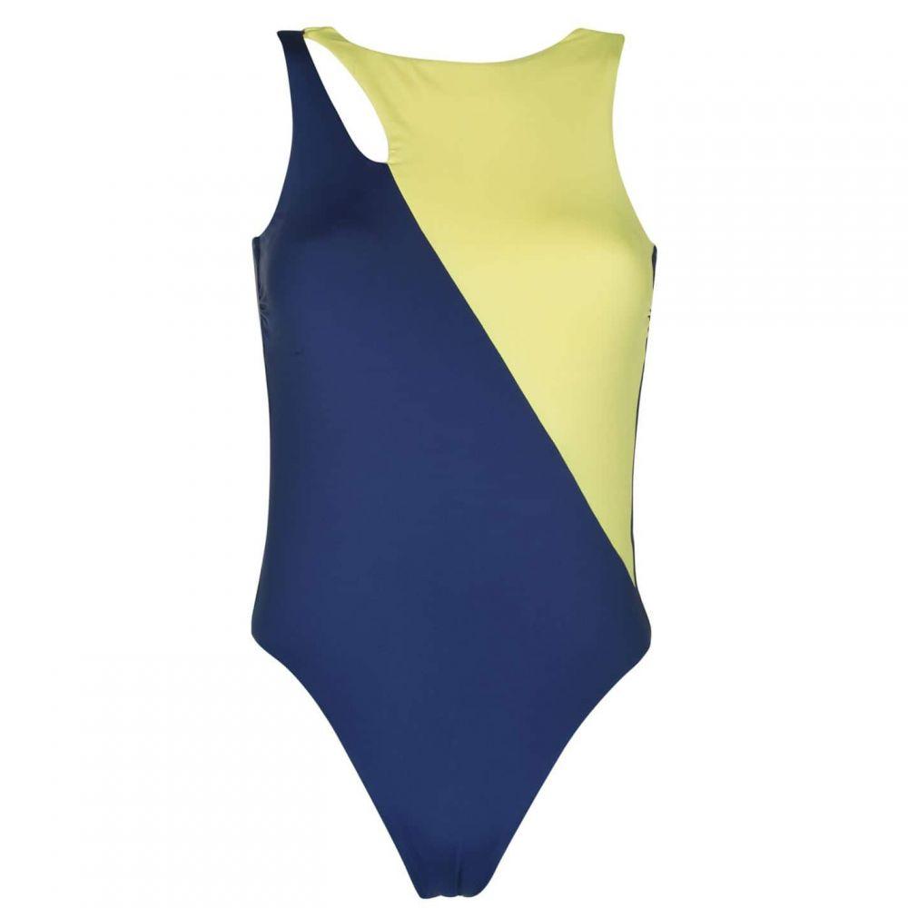シーフォリー Seafolly レディース ワンピース 水着・ビーチウェア【Loop Block Maillot Swimsuit】Blue Opal
