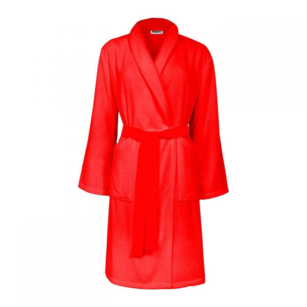 ケンゾー Kenzo レディース ガウン・バスローブ インナー・下着【Iconic Bath Robe】Bright Red