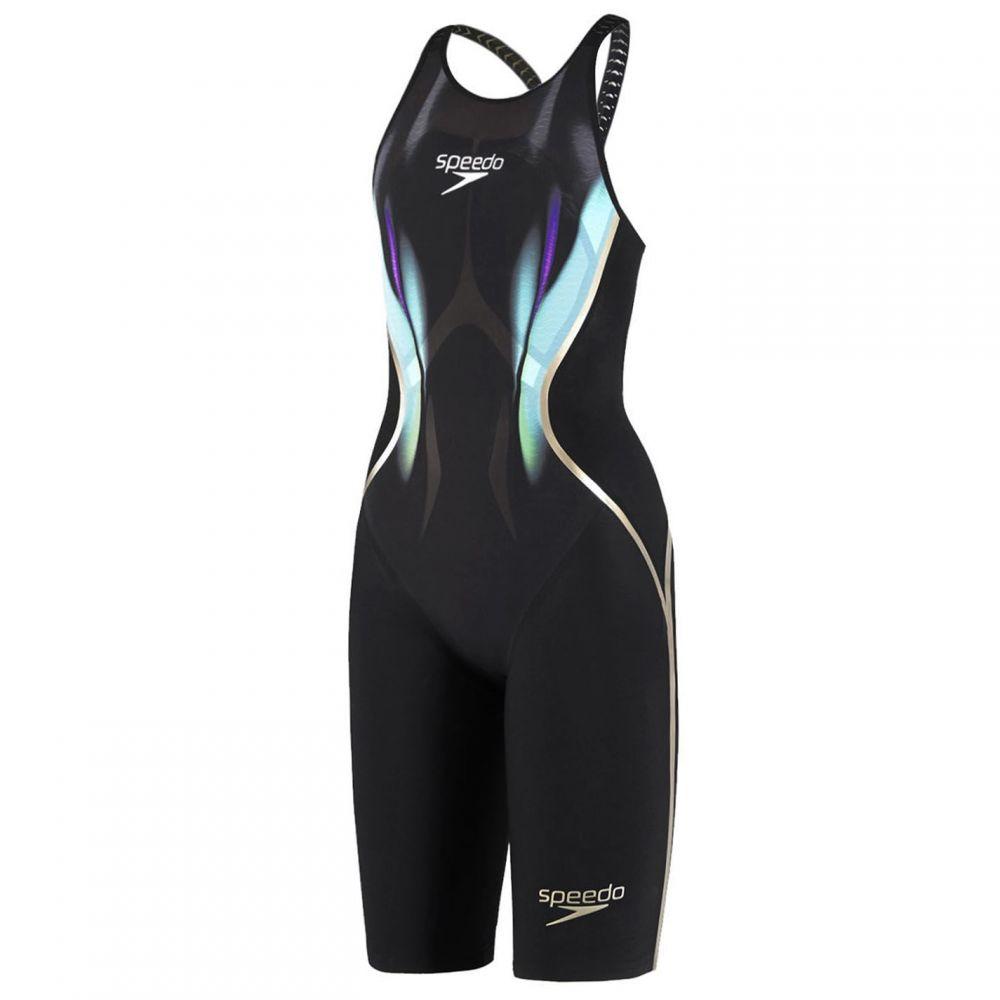 スピード Speedo レディース ワンピース 水着・ビーチウェア【Racer X Cross Back Race Swimsuit】Black/Blue