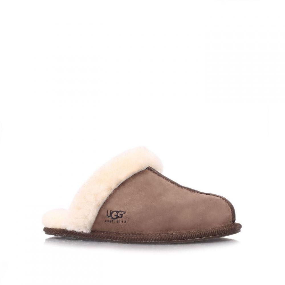 アグ Ugg レディース スリッパ シューズ・靴【Scuffette II slippers】Brown