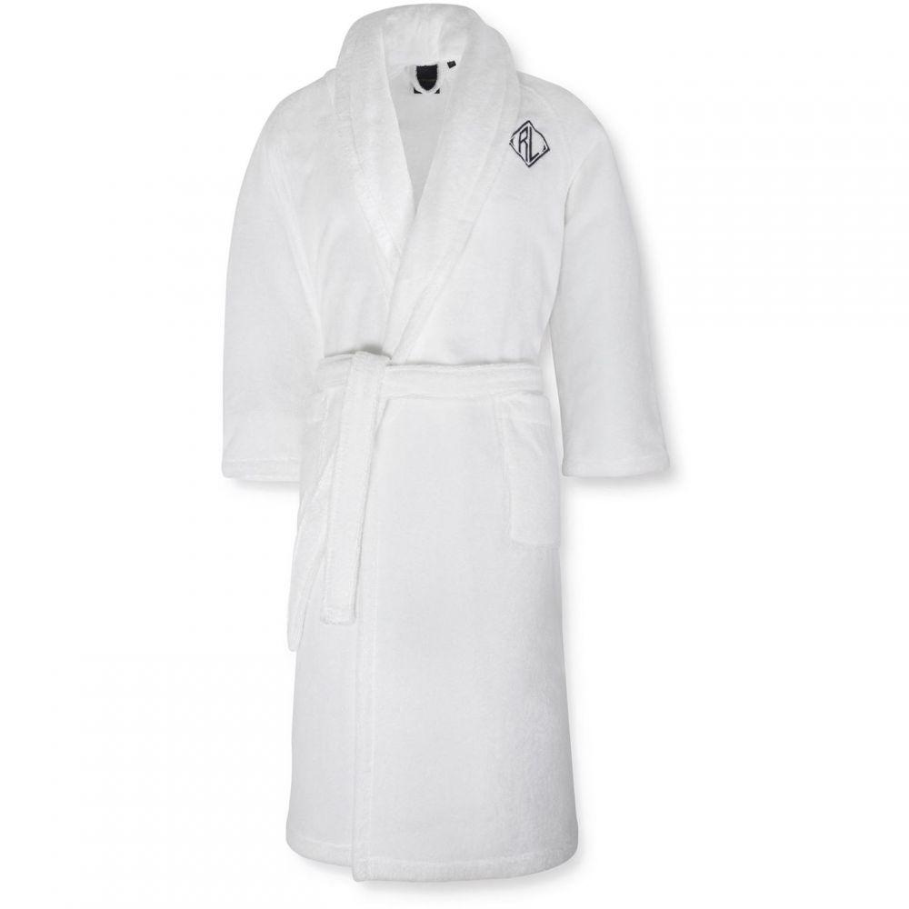 ラルフ ローレン Ralph Lauren Home レディース ガウン・バスローブ インナー・下着【Langdon bath robe】White