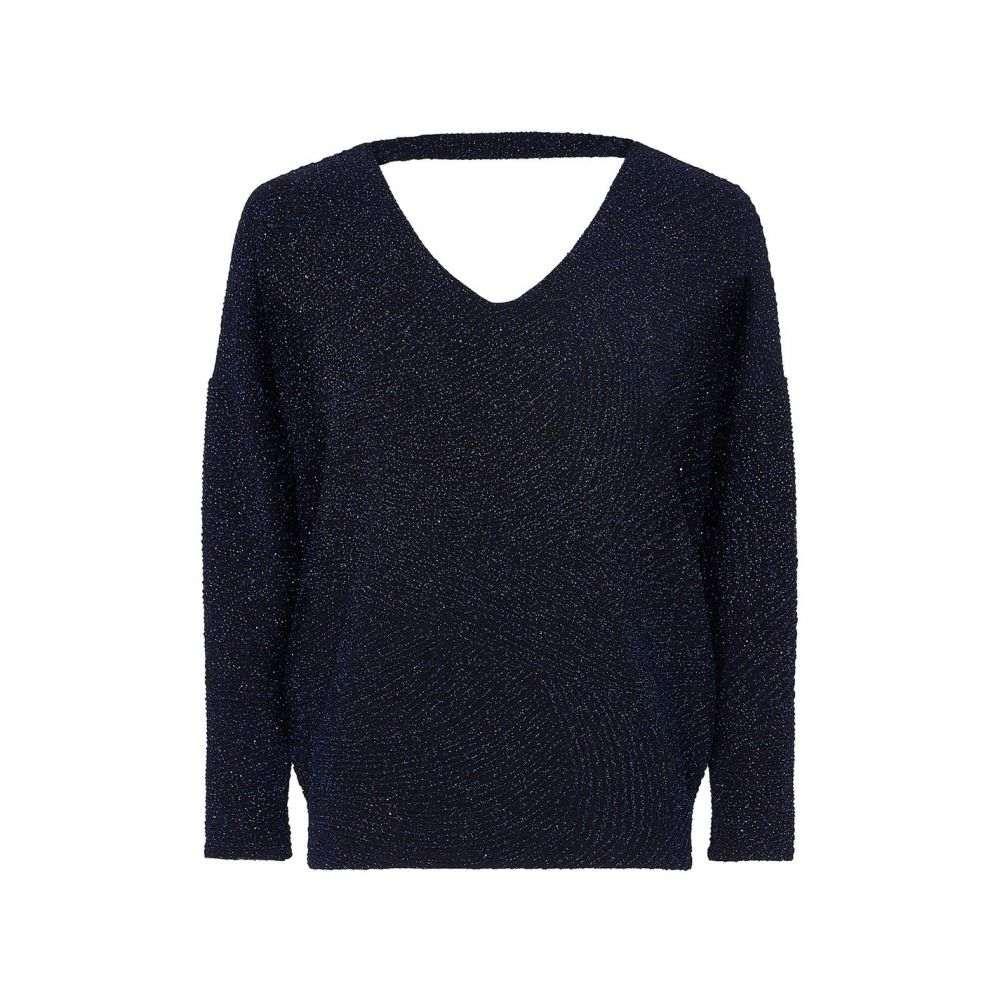 ユミ Yumi レディース ニット・セーター トップス【Sparkly Knitted Jumper】Navy