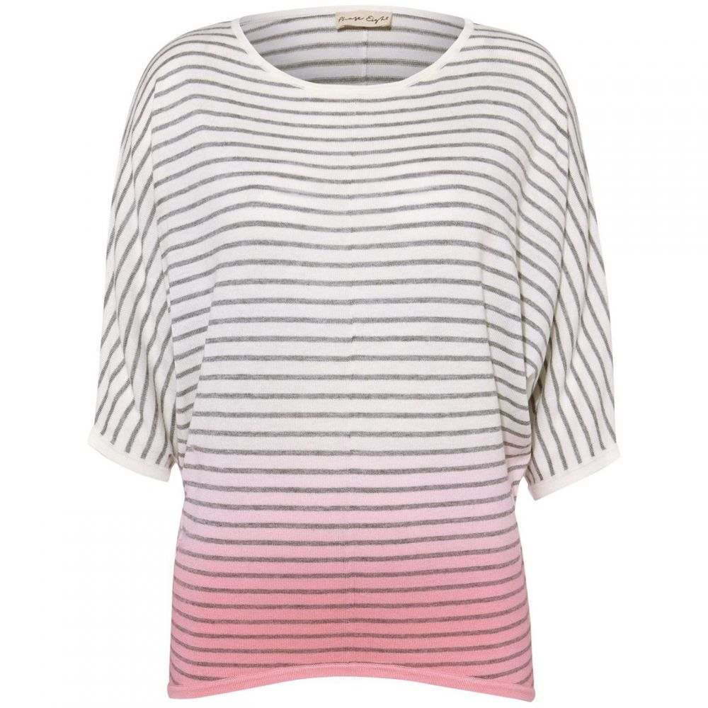 フェイズ エイト Phase Eight レディース ニット・セーター トップス【Dani Dip Dye Stripe Knit】Pink