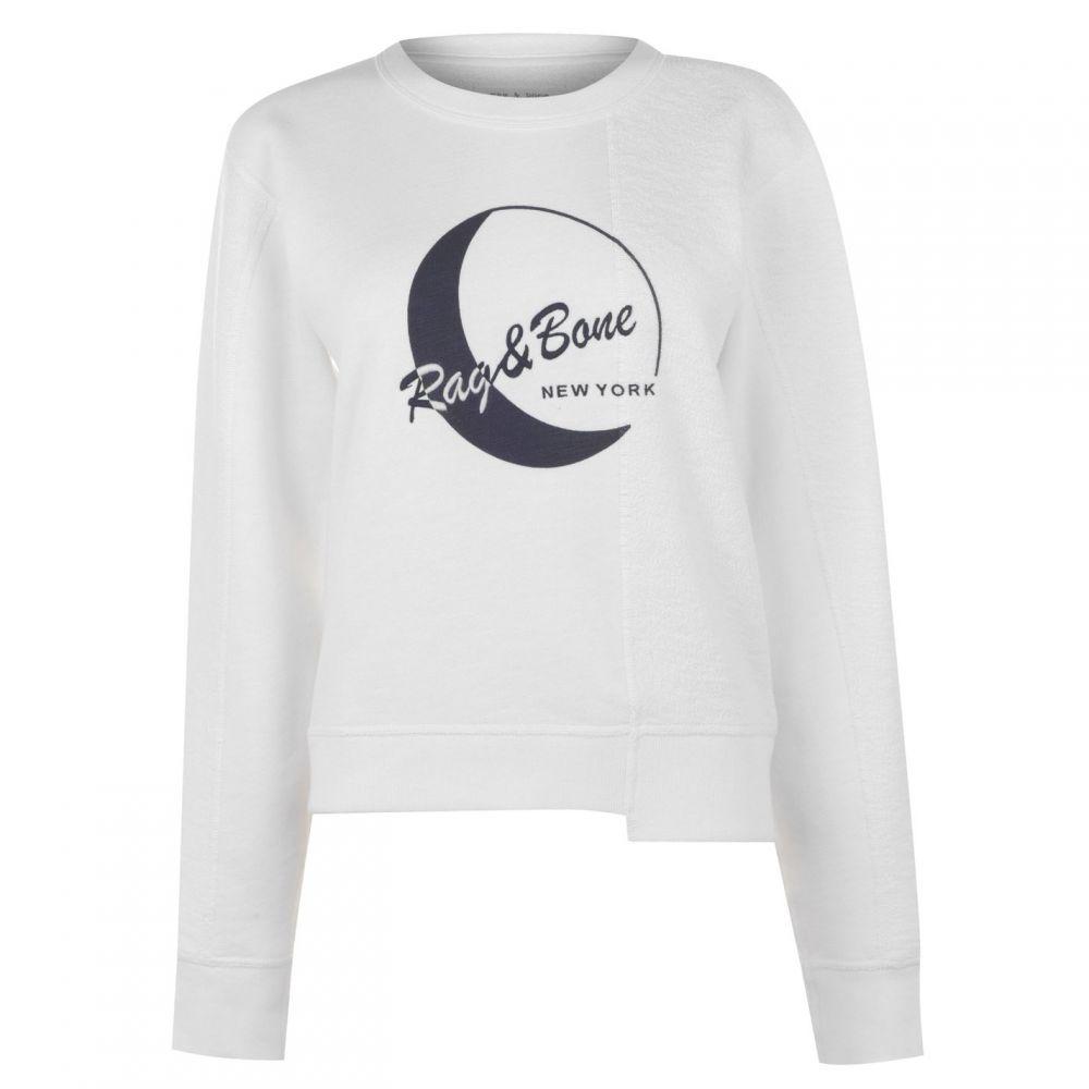ラグ&ボーン Rag and Bone レディース ニット・セーター トップス【1984 Moon Sweater】WHT
