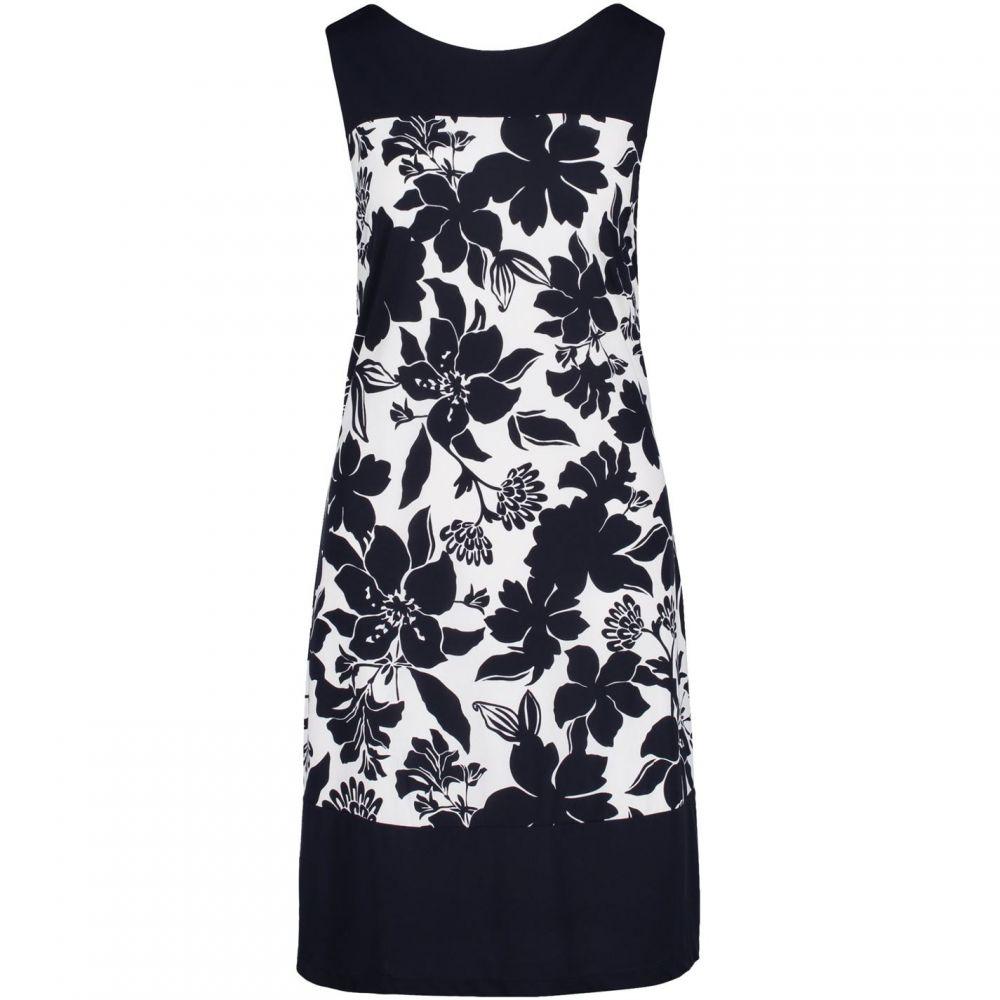 ベティー バークレイ Betty Barclay レディース ワンピース ワンピース・ドレス【Floral Print Dress】Dark Blue